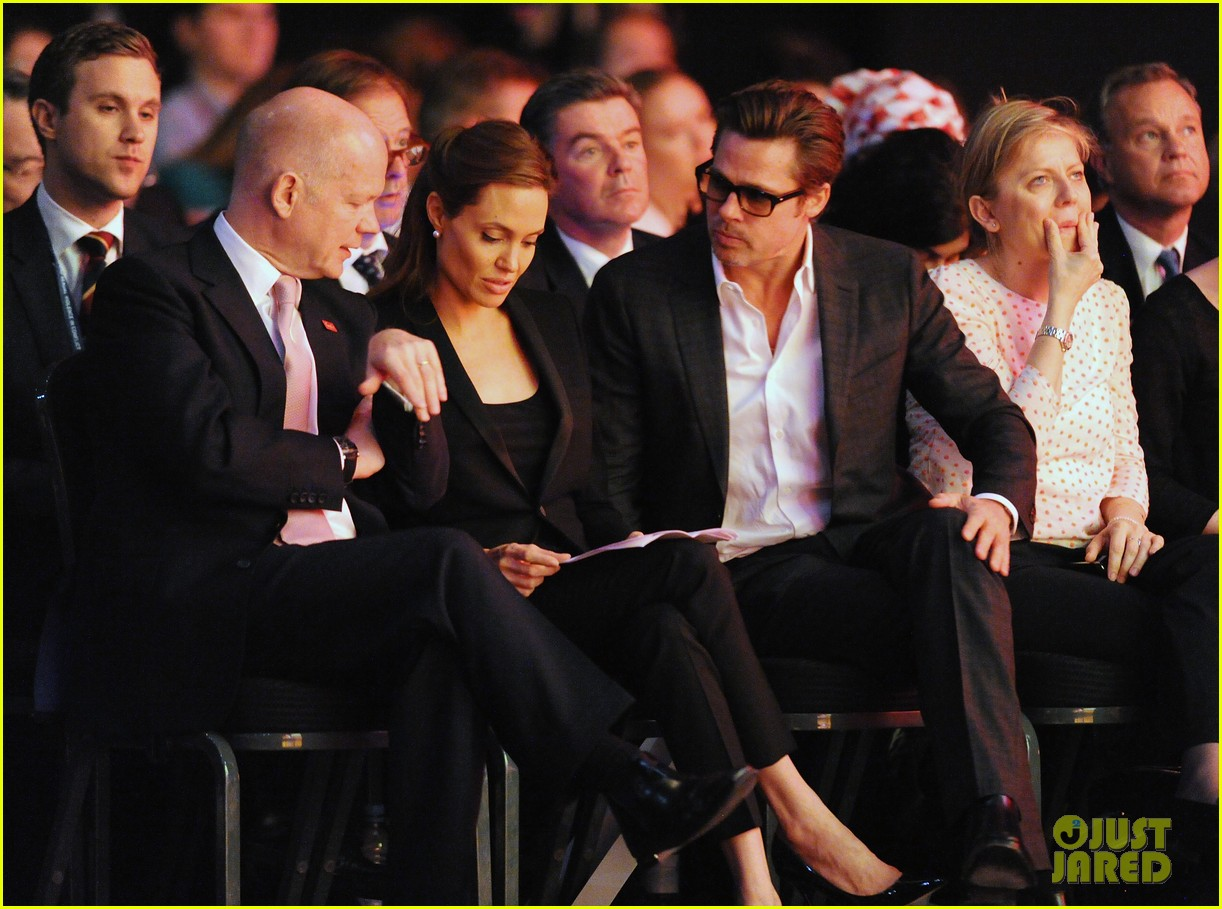 amal alamuddin brad pitt angelina jolie anti rape summit 113134110