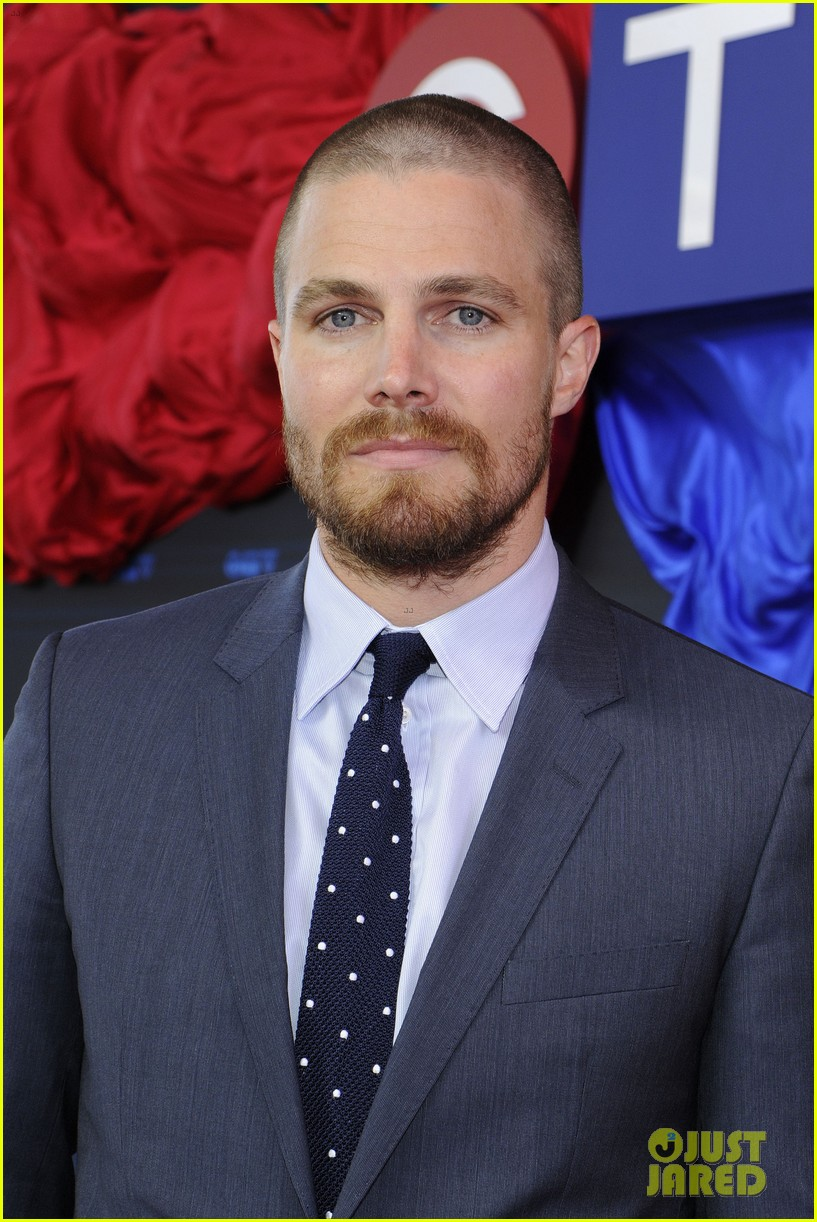 stephen amell chloe bennet hit canada for ctv upfront 2014 02