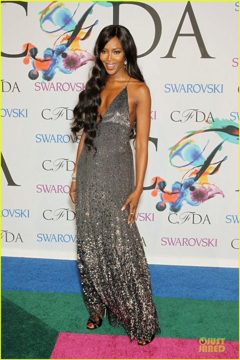 anne v naomi campbell face cfda awards 2014 14