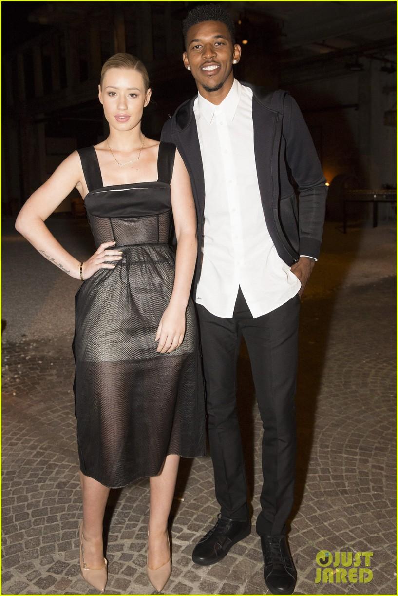 iggy azalea boyfriend nick young are fashionable duo for calvin klein 14