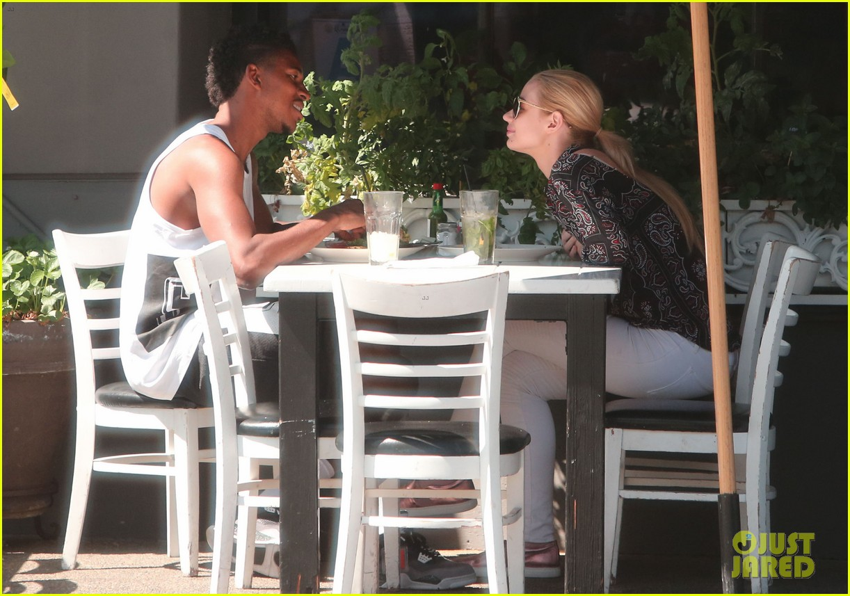 iggy azalea boyfriend nick young are one cute couple lunch 12