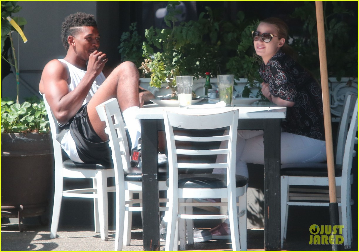 iggy azalea boyfriend nick young are one cute couple lunch 16