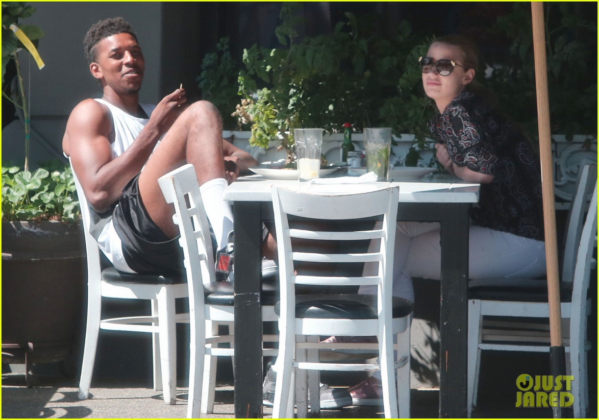iggy azalea boyfriend nick young are one cute couple lunch 17