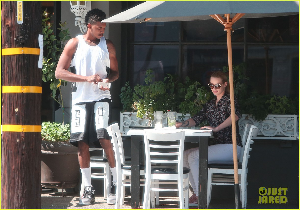 iggy azalea boyfriend nick young are one cute couple lunch 263135090