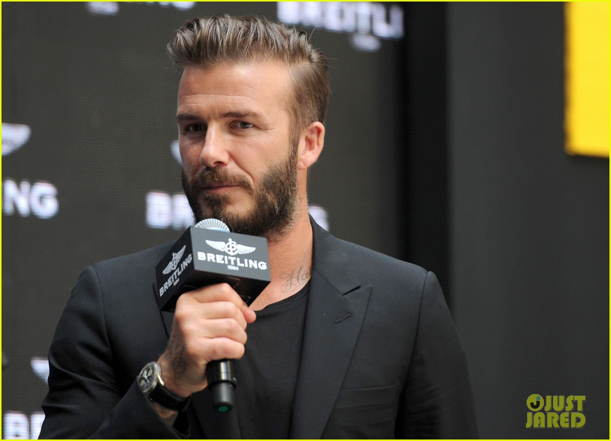 david beckham breitling press conference in beijing 023133984
