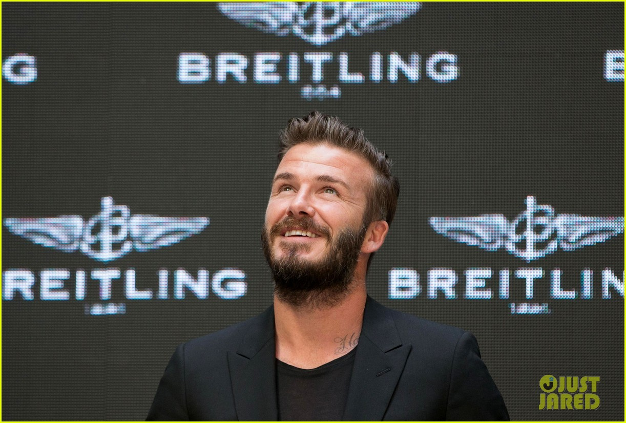 david beckham breitling press conference in beijing 14