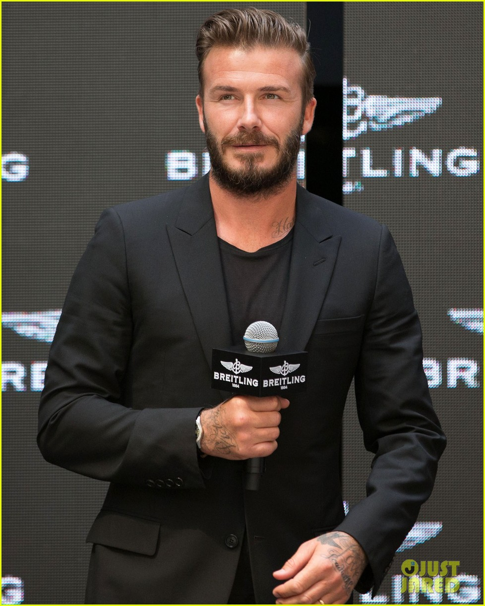 david beckham breitling press conference in beijing 15