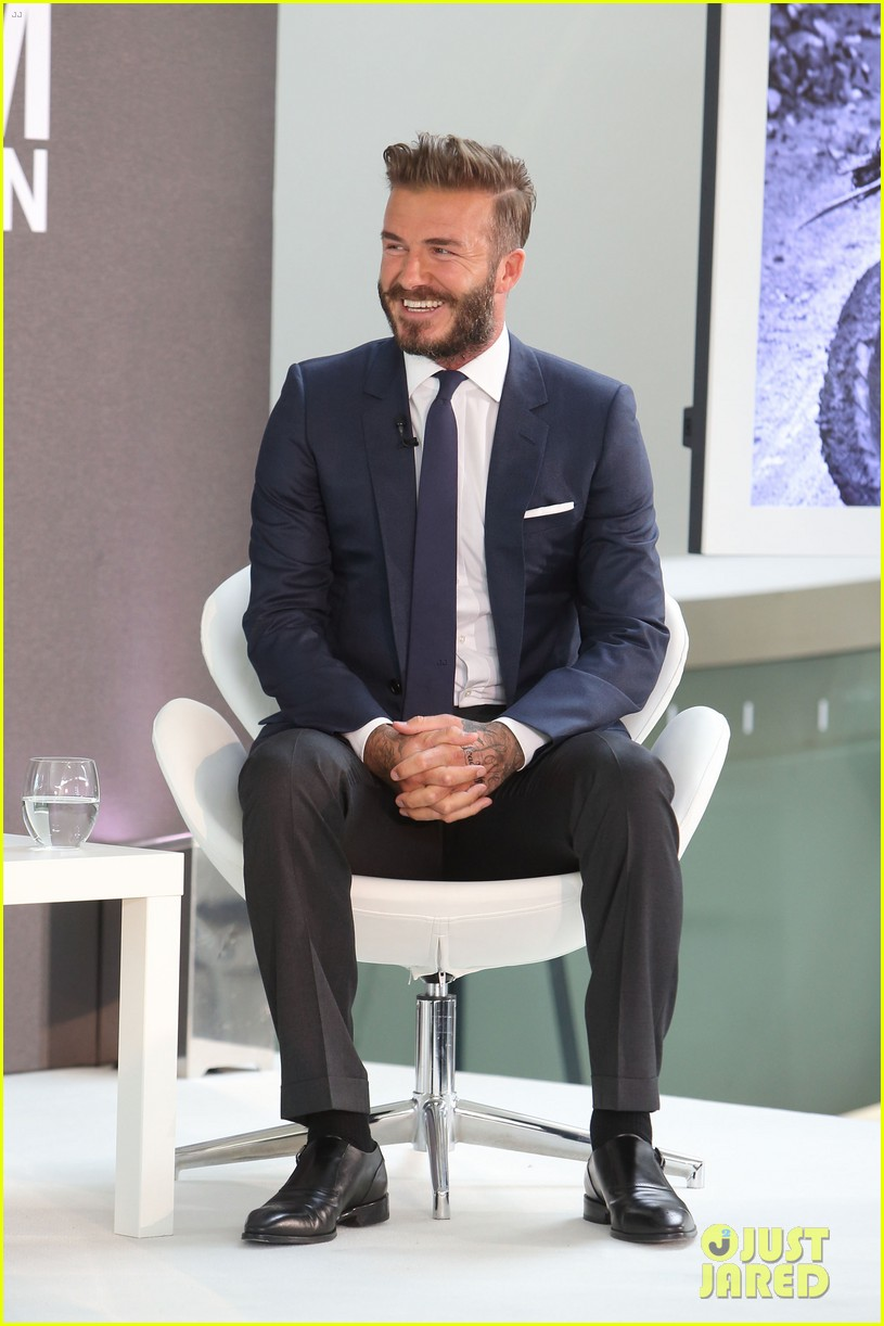david beckham attends photo call for his documentary into the unknown 05