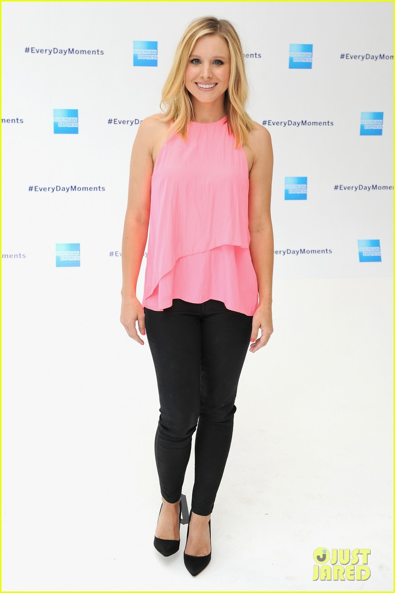 kristen bell soulcycle american express events 09