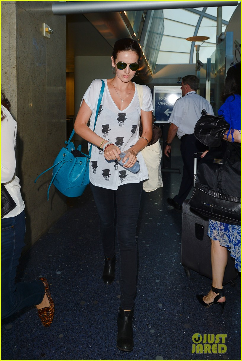 camilla belle heads home after her south american tour 18