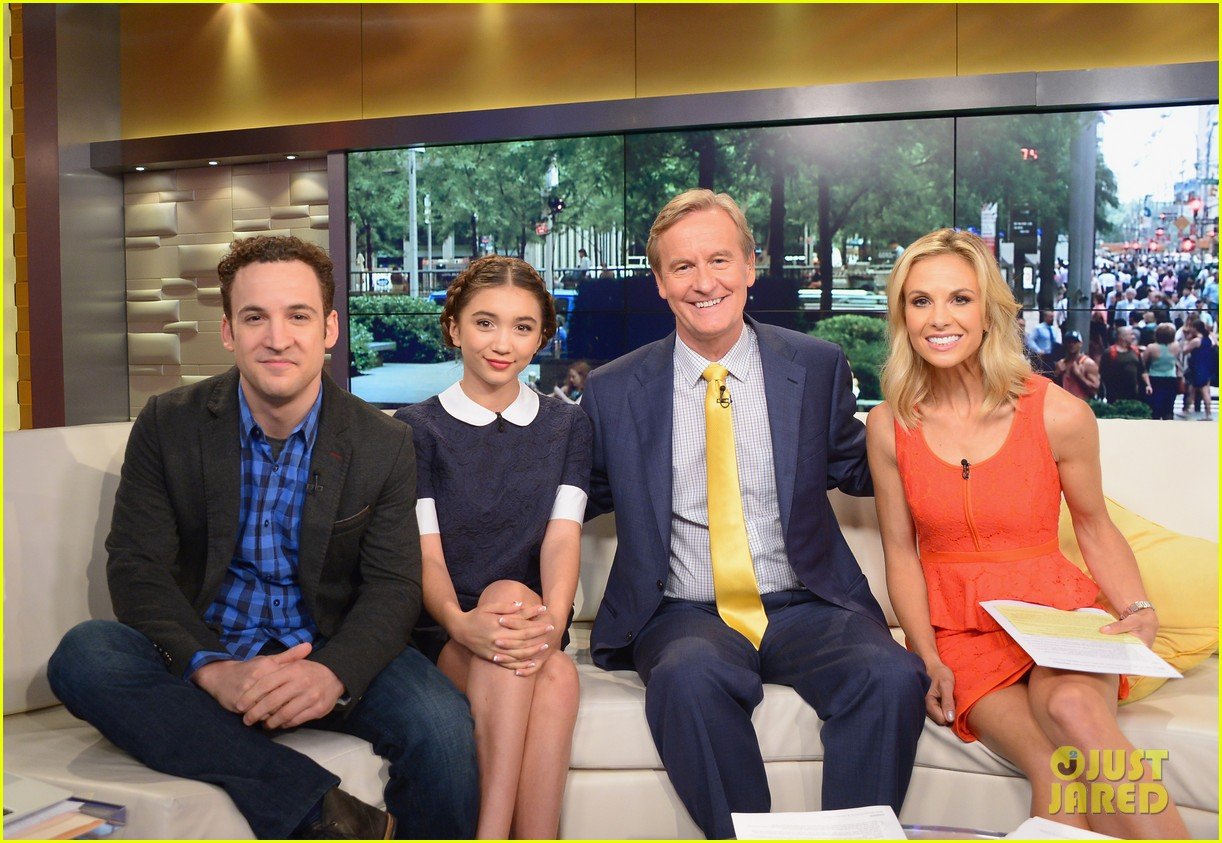 rowan blanchard ben savage gmw ny press 00