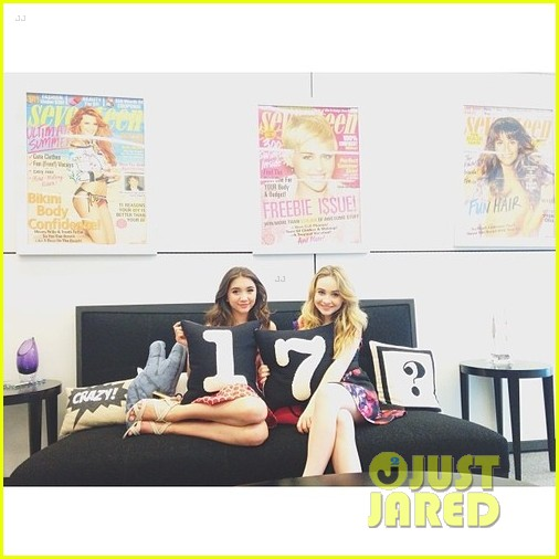 rowan blanchard ben savage gmw ny press 033143150