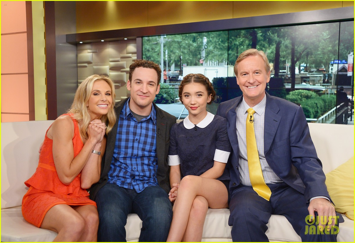 rowan blanchard ben savage gmw ny press 063143153