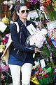 jessica biel looks happy to smell like flowers 04