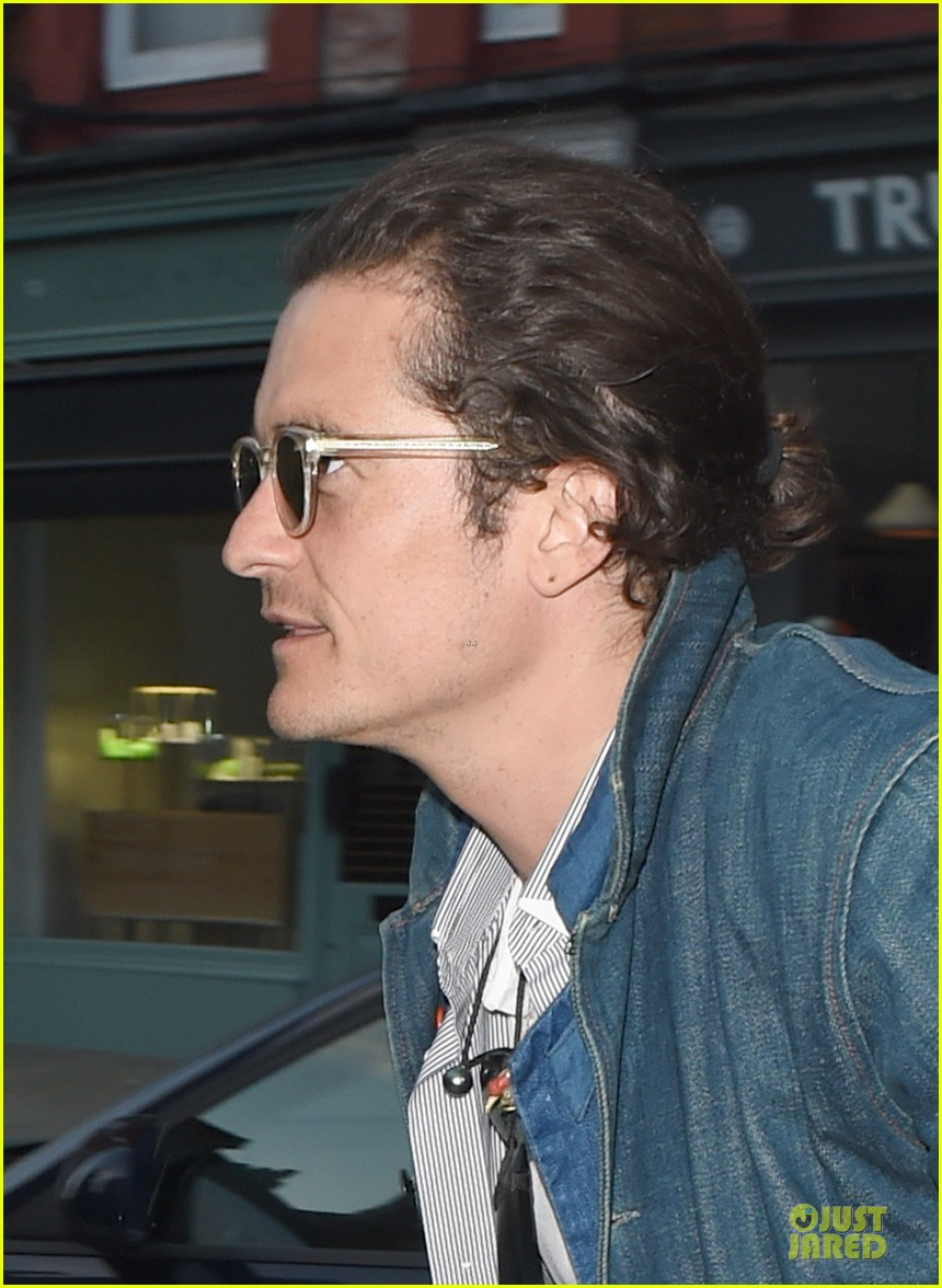 orlando bloom hugh jackman star power to chiltern firehouse 023146647