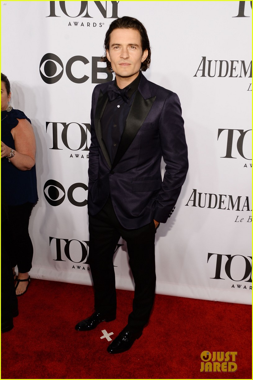 orlando bloom lucy liu tony awards 2014 053131260