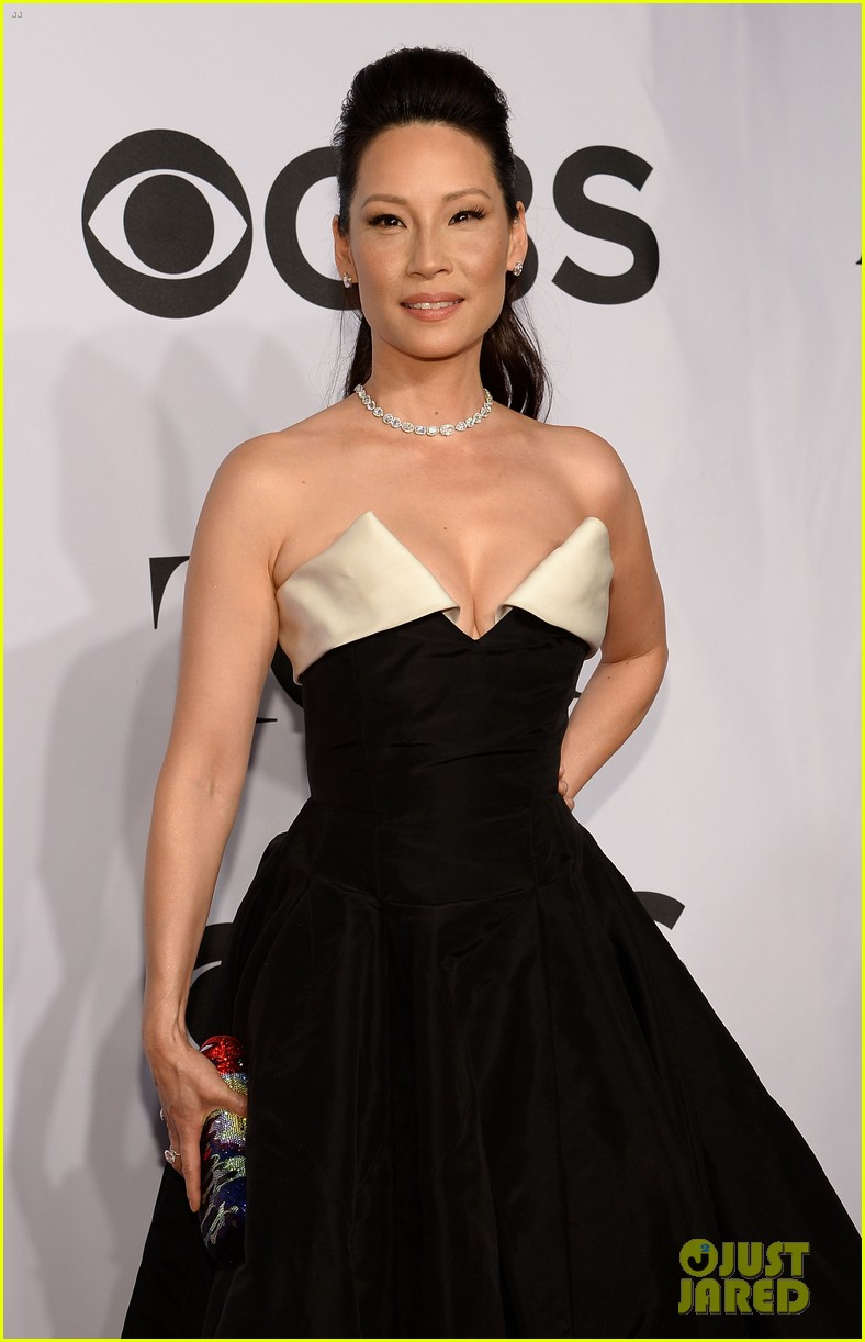 orlando bloom lucy liu tony awards 2014 08
