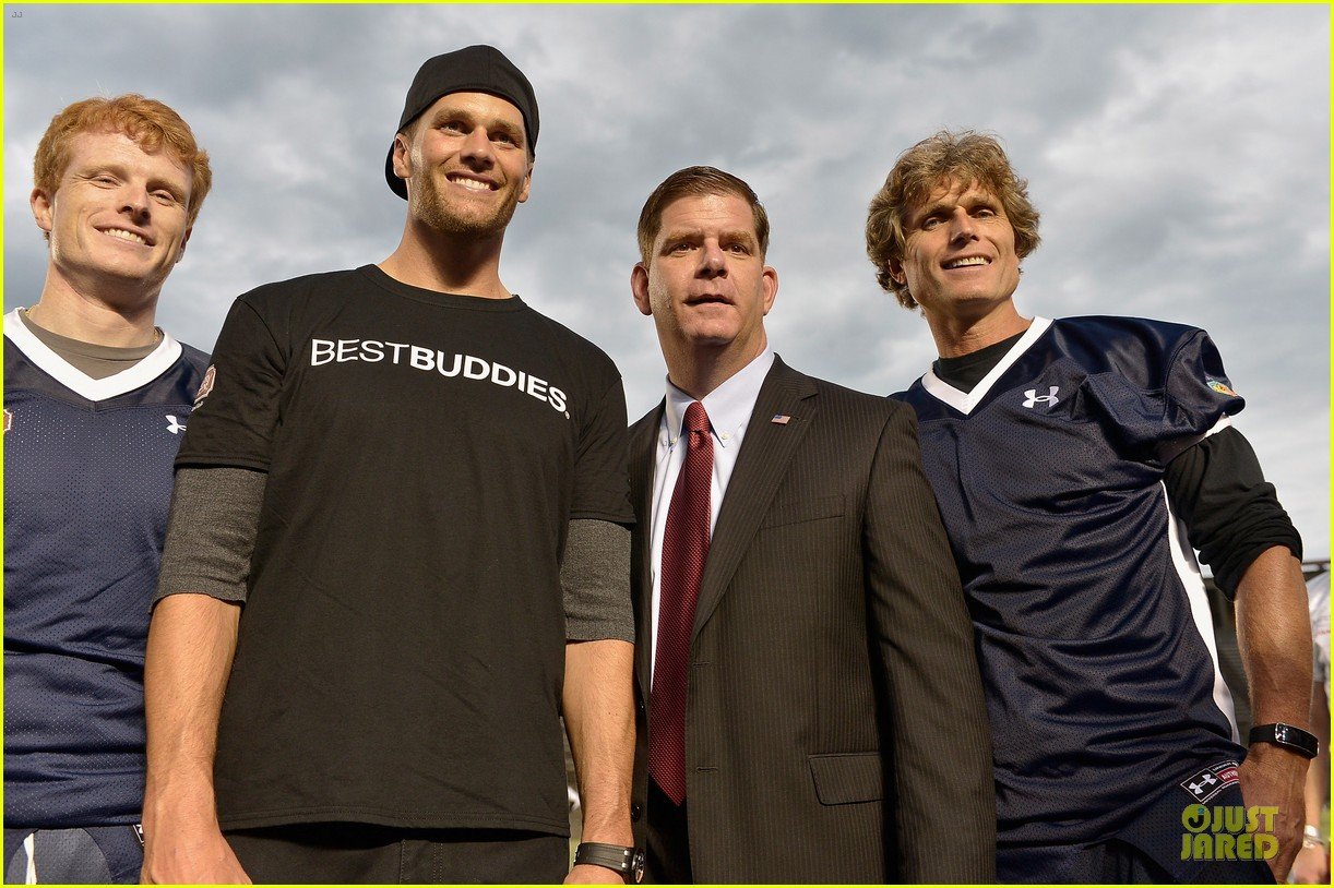 tom brady so proud to support best buddies 06