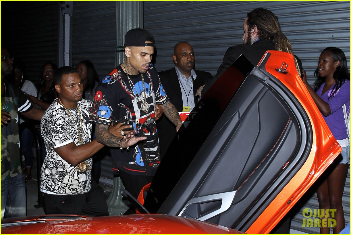 chris brown karrueche tran bet awards after party 13