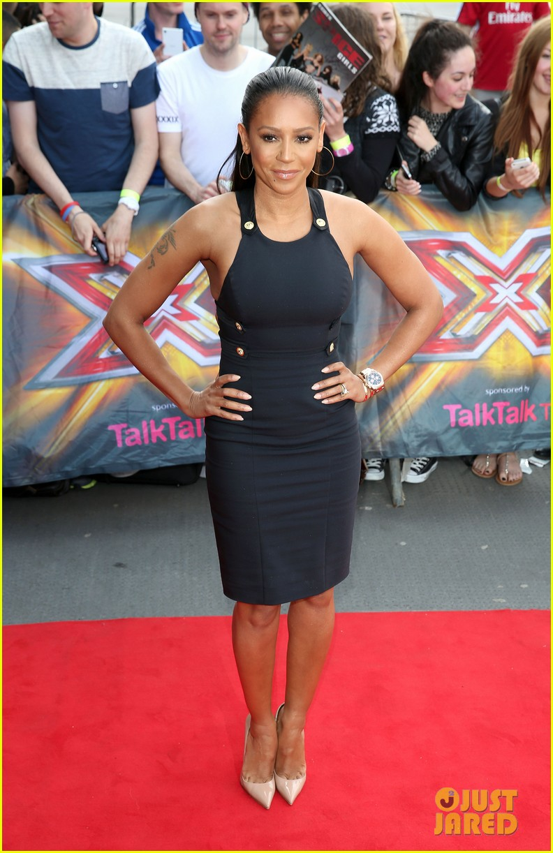 mel b cheryl cole x factor london auditions 08