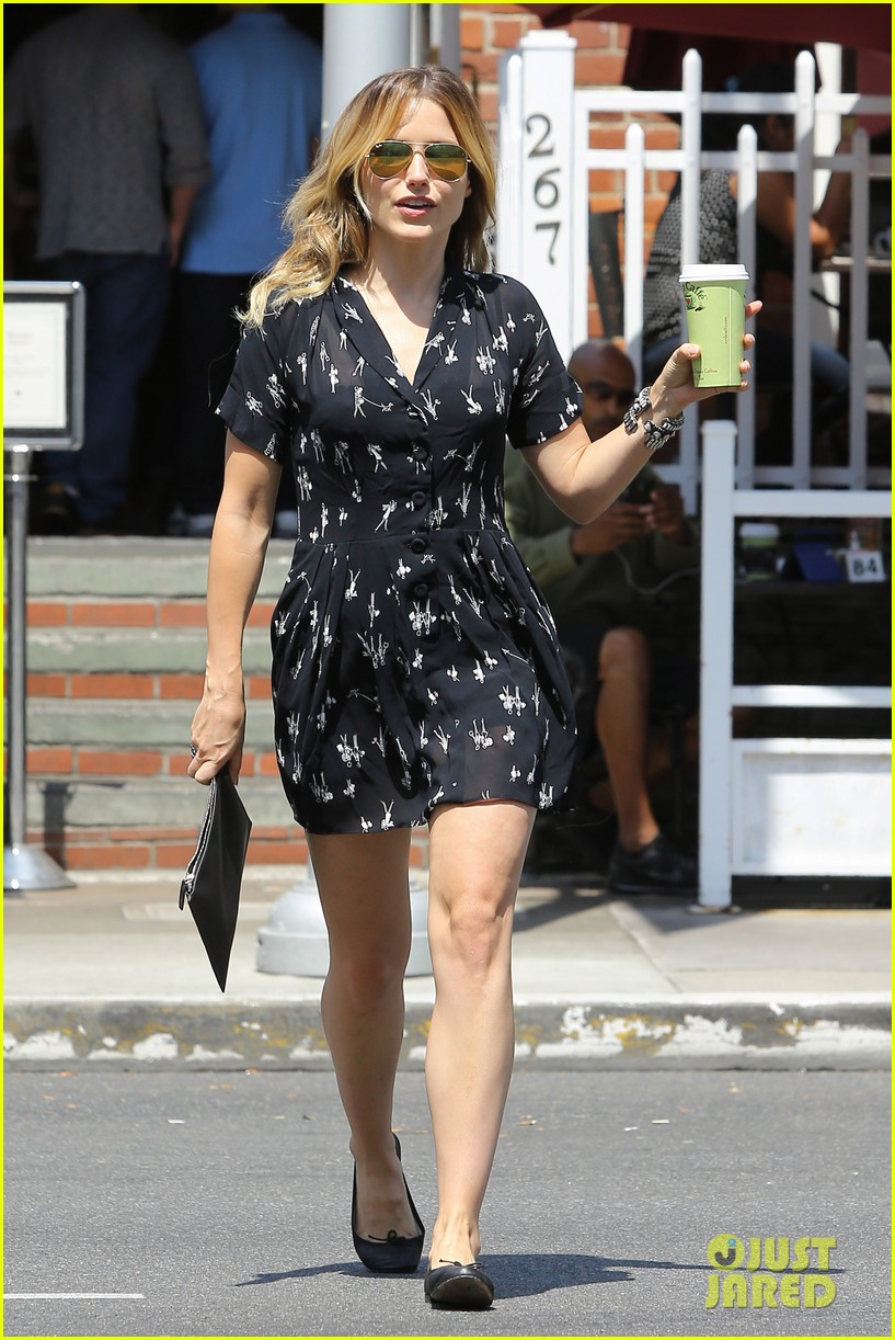 sophia bush two events lunch day after 083133445