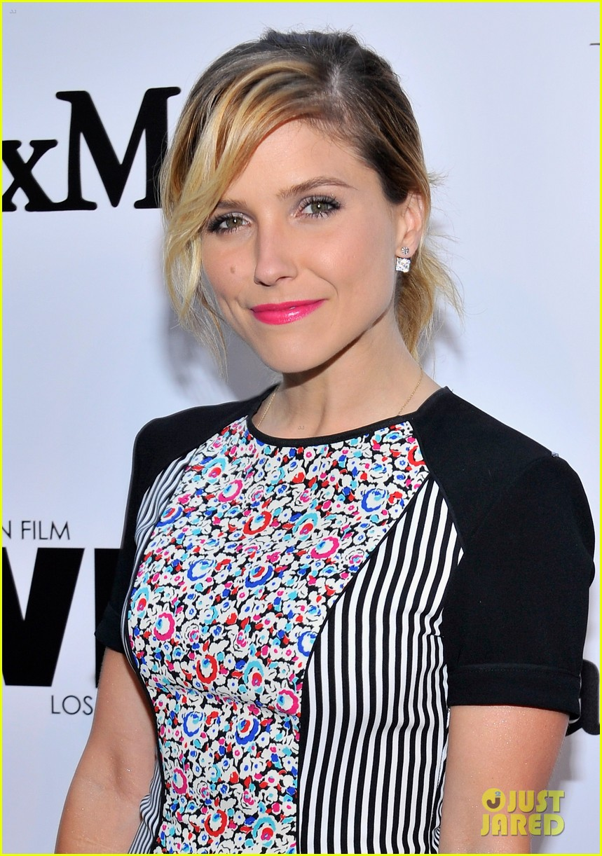 sophia bush two events lunch day after 09