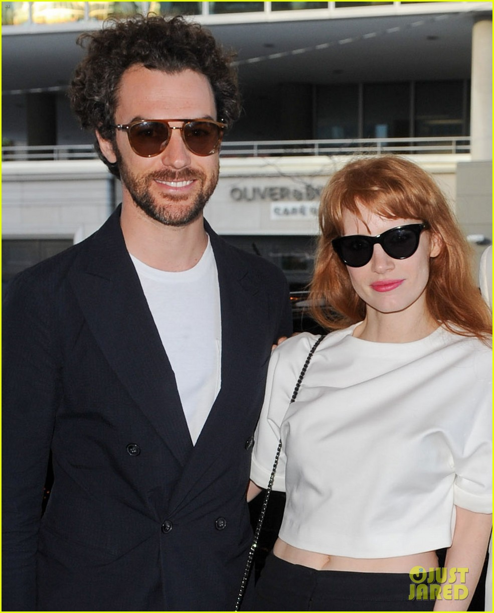 jessica chastain boyfriend date night toronto 02