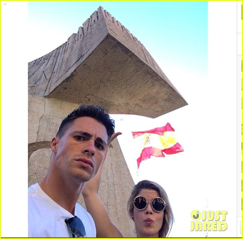 colton haynes emily bett rickards arrow madrid 03