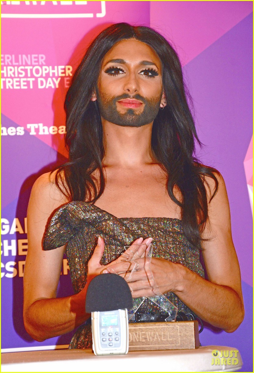 conchita wurst christopher street day gala 22