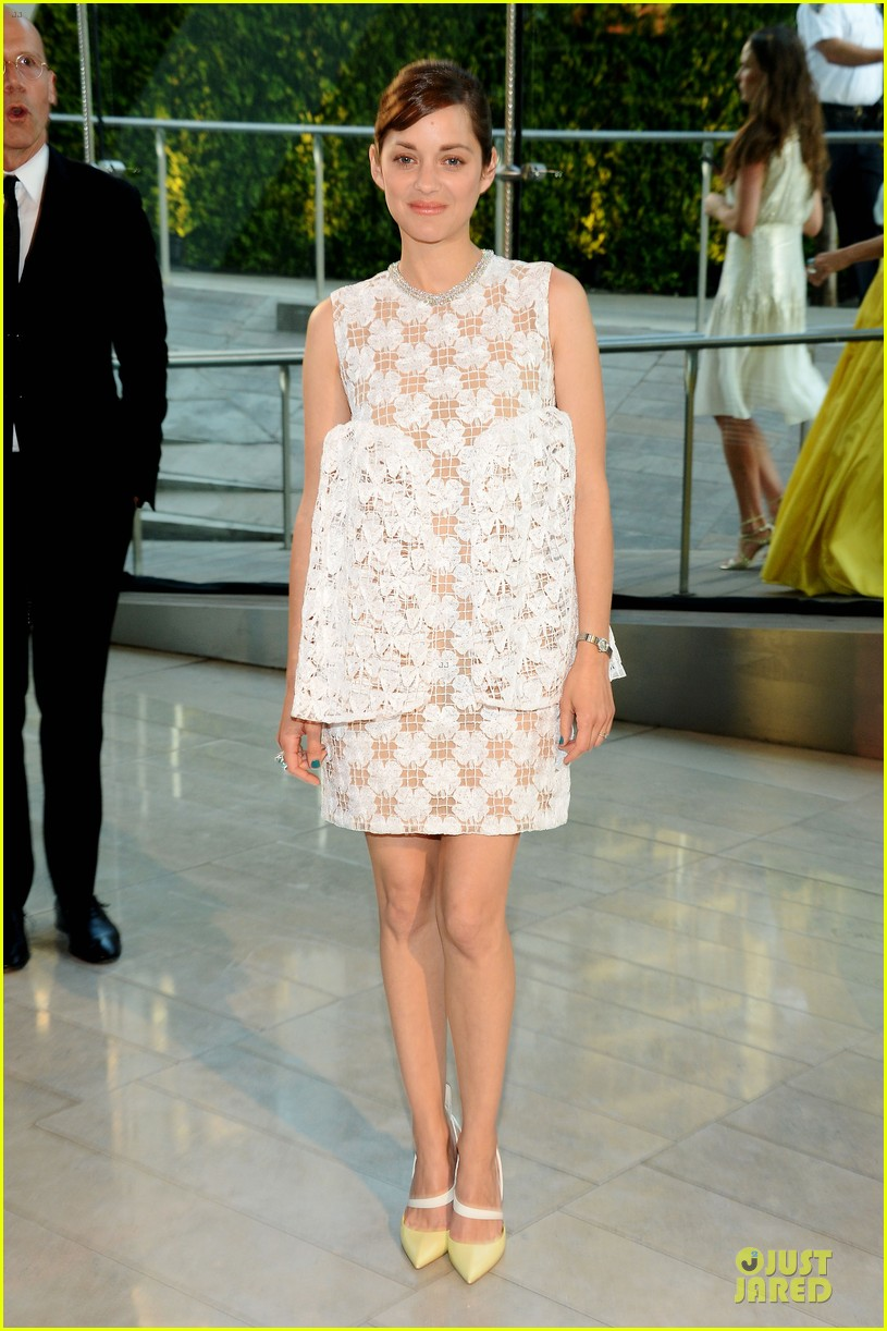 marion cotillard graceful at cfda awards 2014 01