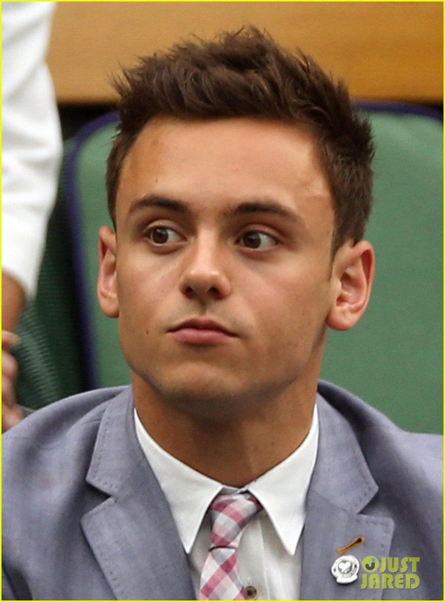 tom daley wimbeldon championships splash cancelled 05