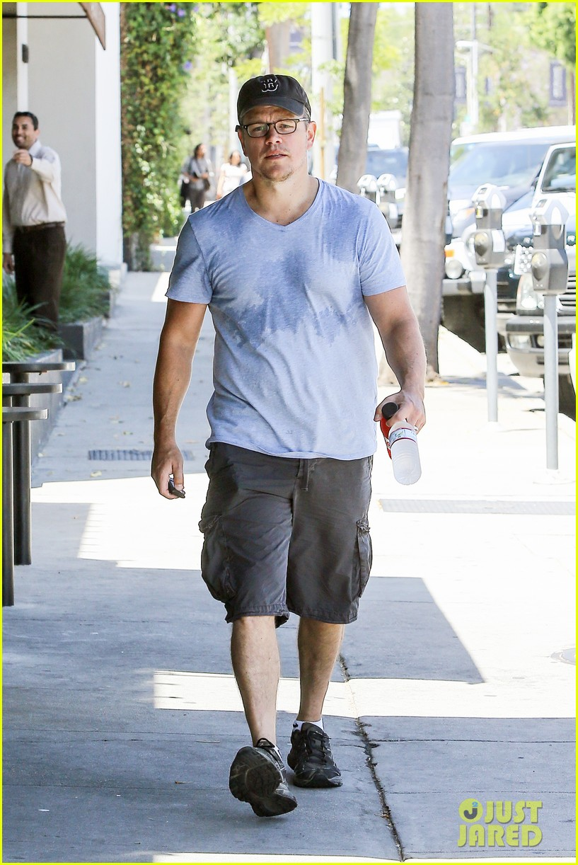 matt damons cousin is training ben affleck for batman 123128779