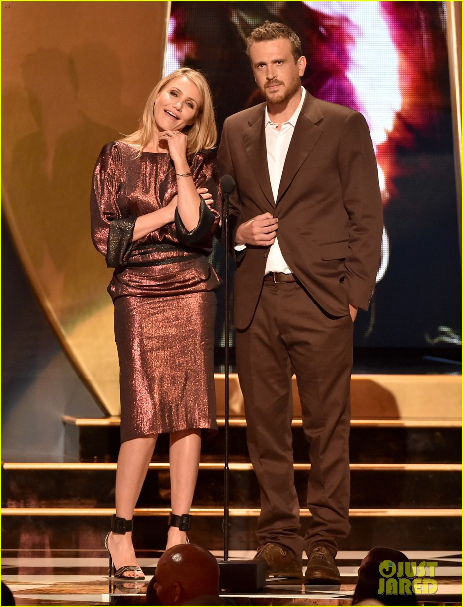 cameron diaz jason segel guys choice awards 2014 013130743