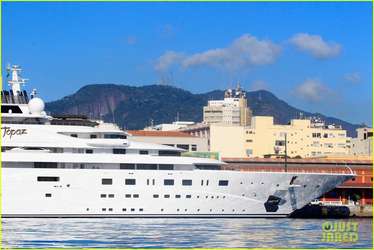 leonardo dicaprio luxury yacht world cup 10