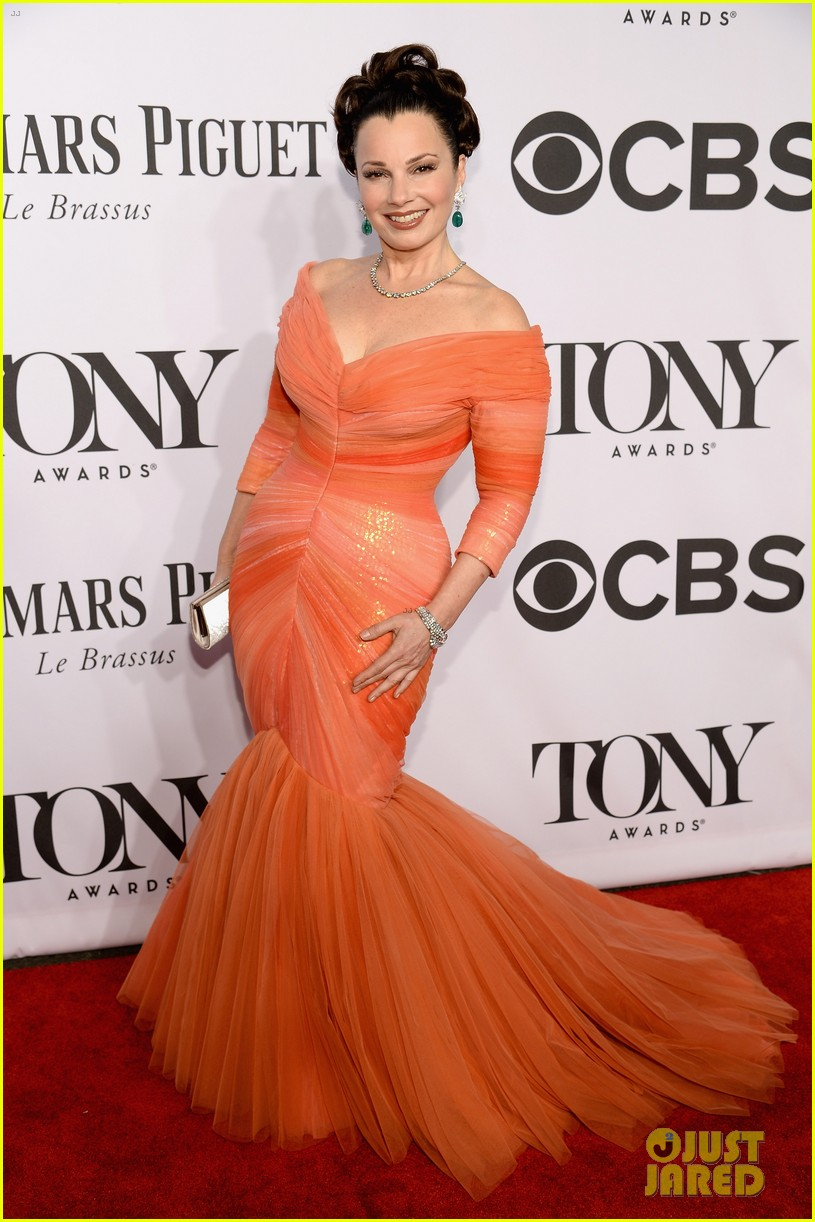 fran drescher tony awards 2014 01