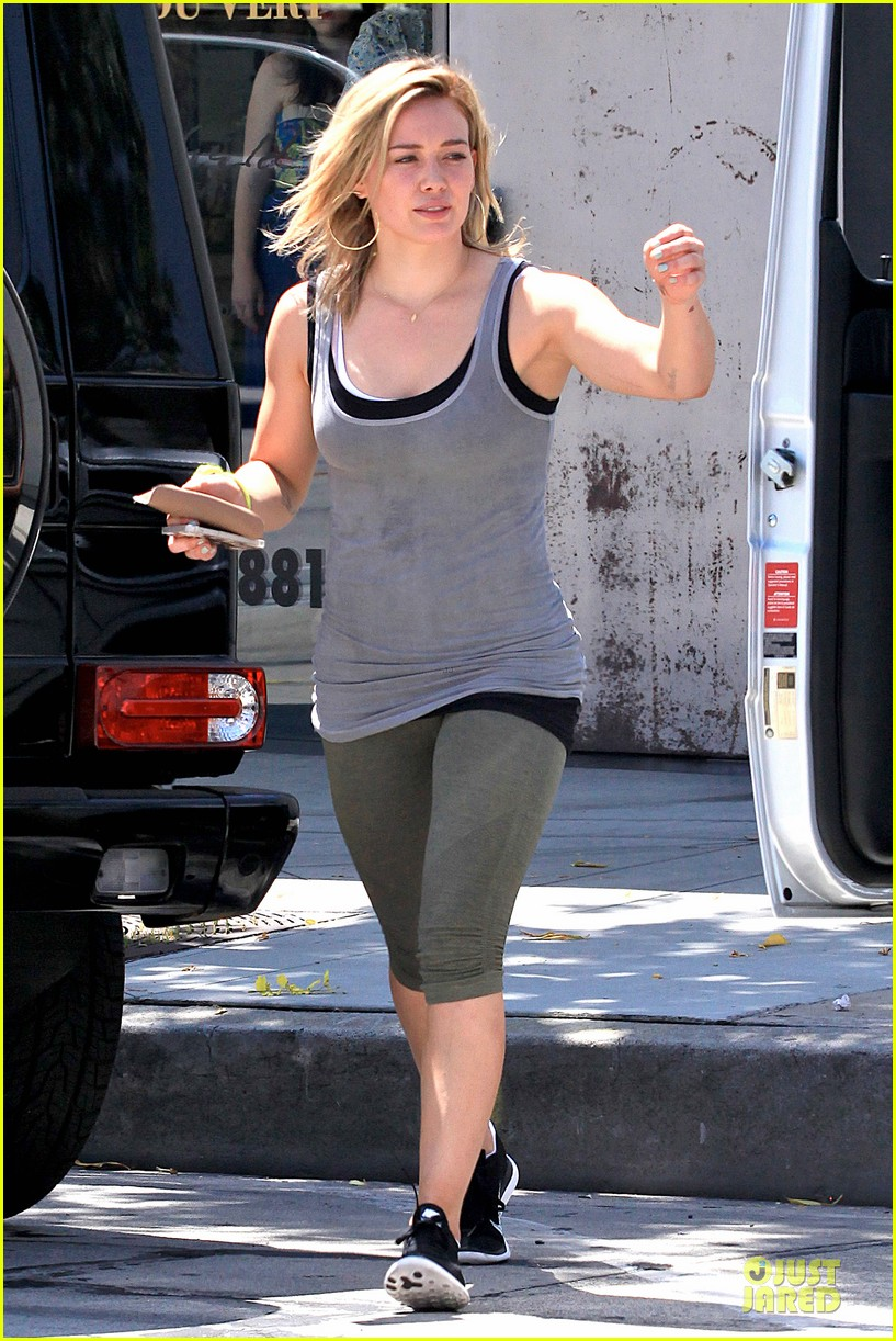 hilary duff overalls cool different 07