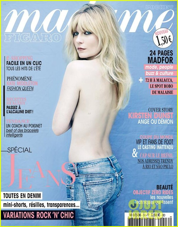 kirsten dunst goes completely topless for madame figaro 04