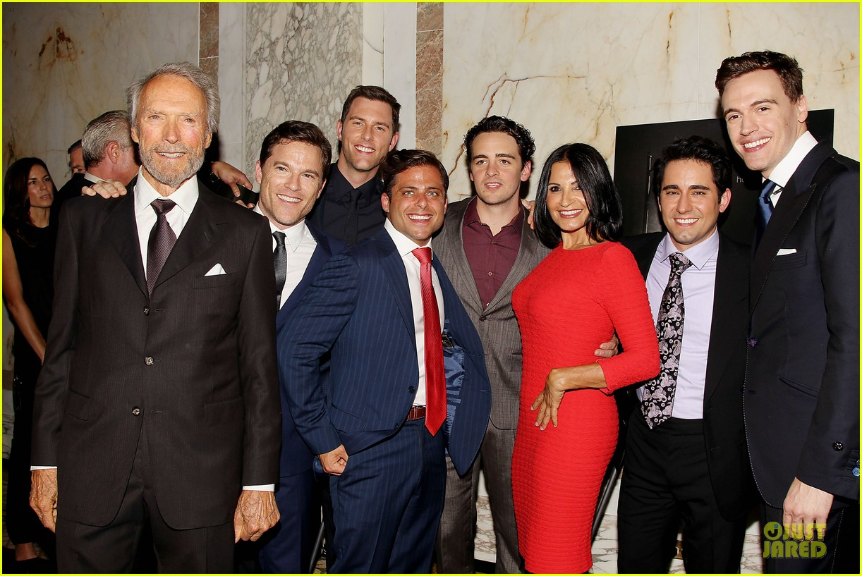 clint eastwood jersey boys cast nyc screening 16
