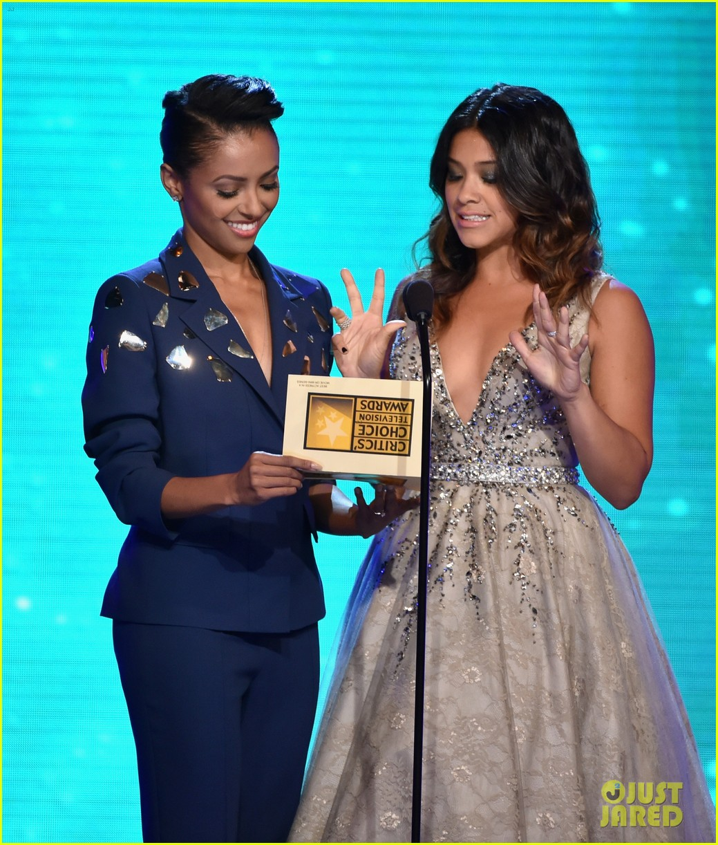 kat graham gina rodriguez critics choice tv awards 2014 03