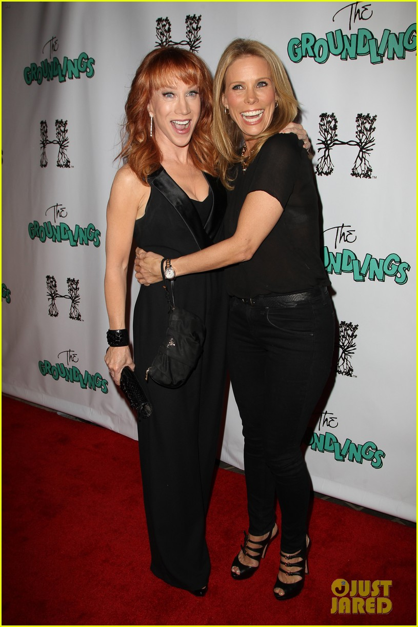 kathy griffin cheryl hines groundlings anniversary 12