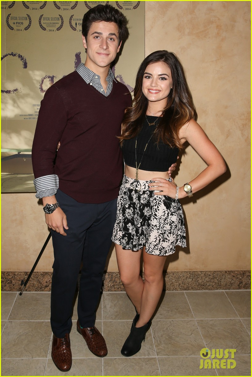 lucy hale supports ex david henrie at his short film screening 06