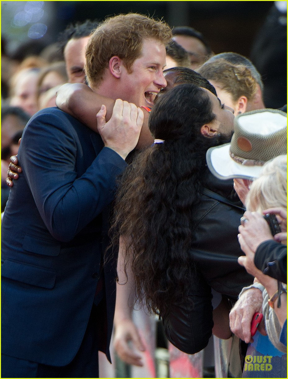 prince harry interaction with goat melt your heart 023132675