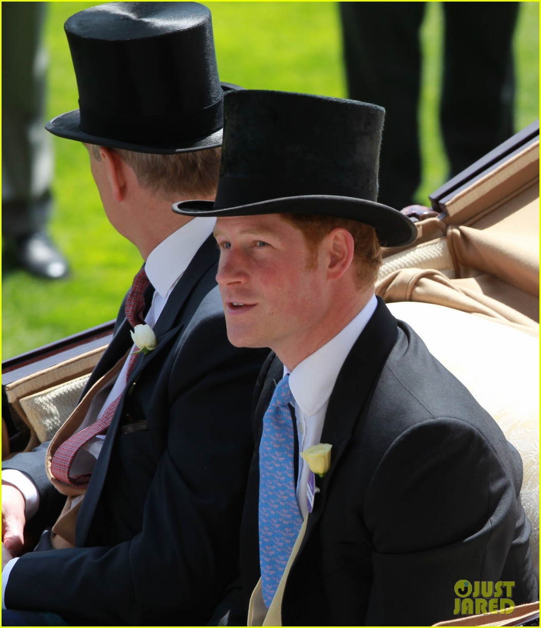prince harry looks top notch top hat 233137221
