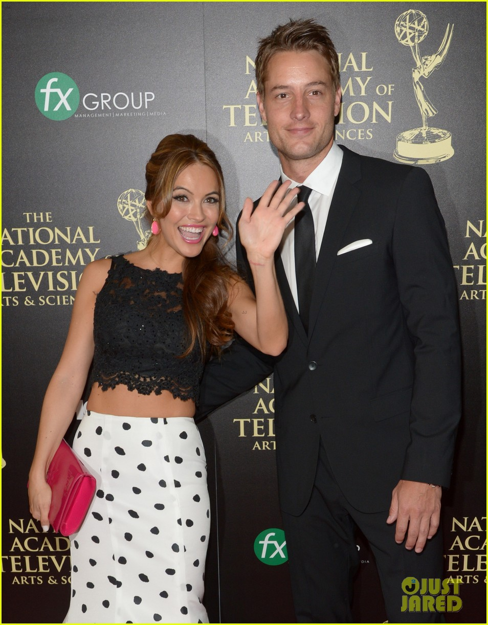 justin hartley chrishell strause daytime emmy awards 2014 043141941