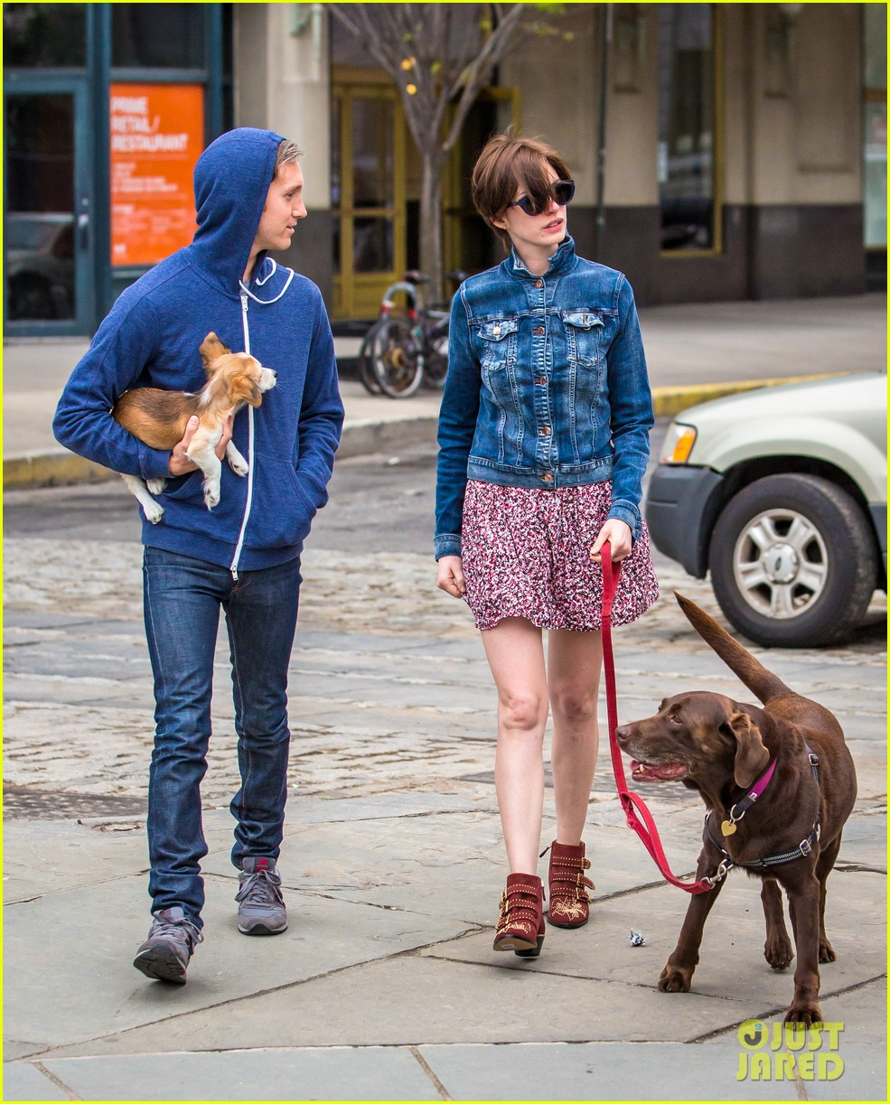 anne hathaway adam schulman add new fury friend to the mix 06
