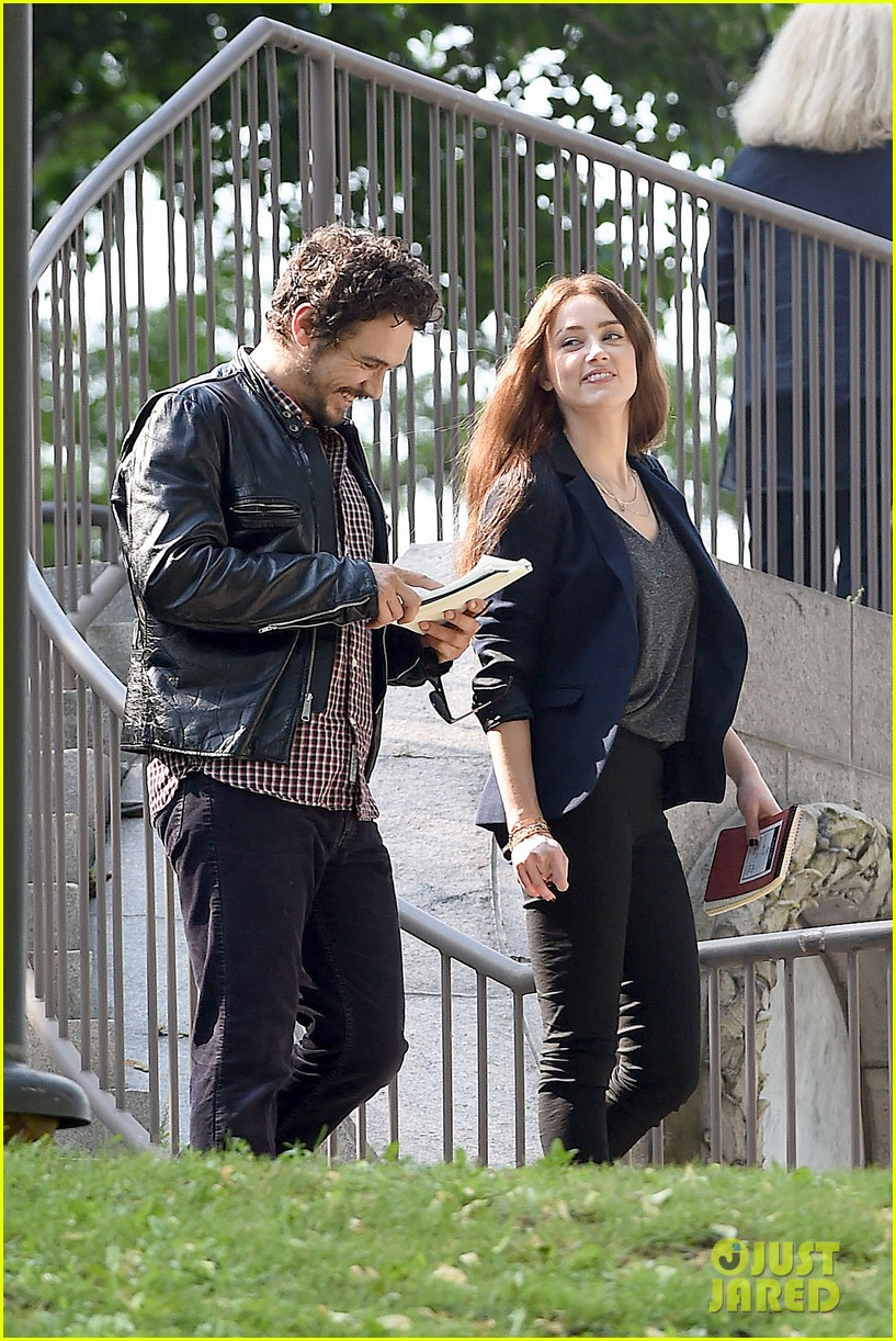 james franco wraps his arms around amber heard for motorcycle ride 19