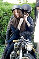 james franco wraps his arms around amber heard for motorcycle ride 02