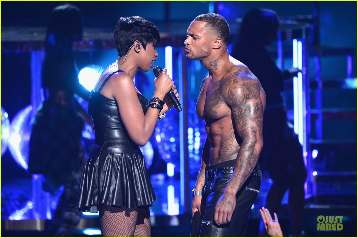 jennifer hudson shirtless david mcintosh bet awards 2014 02