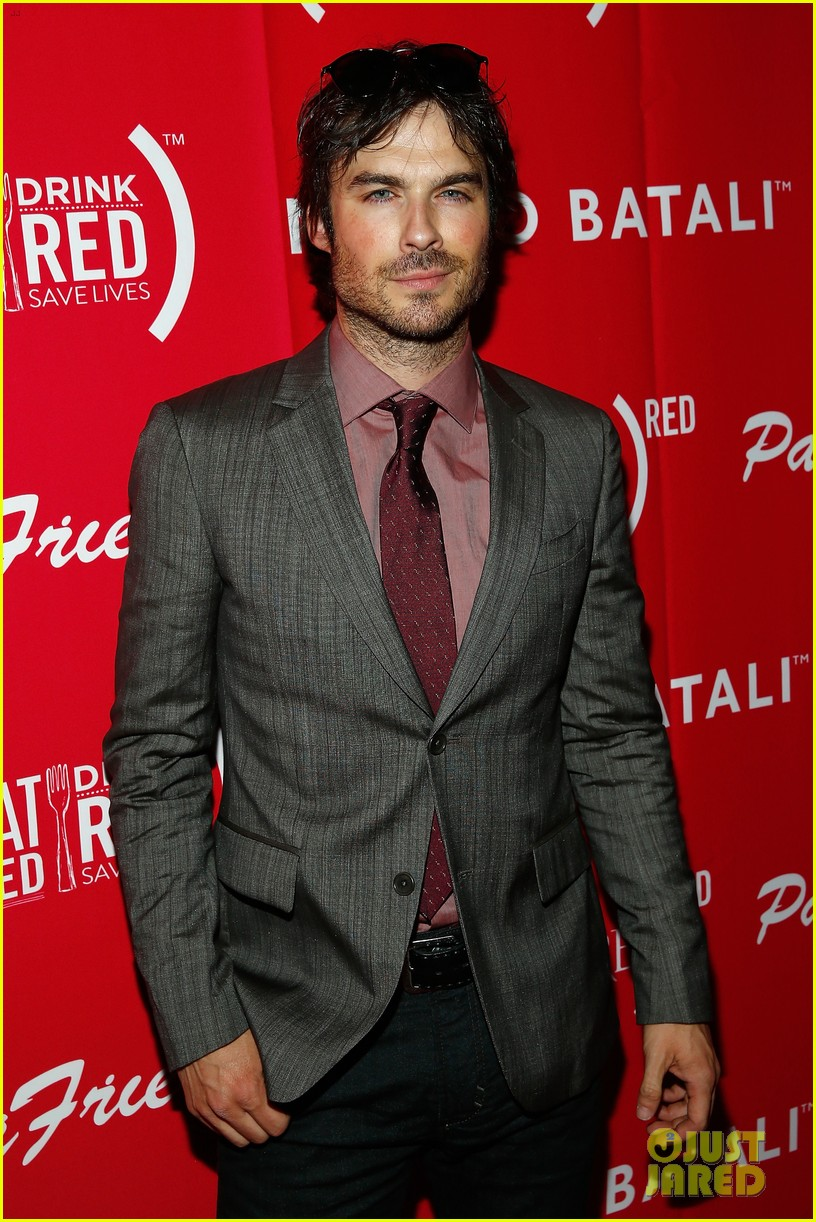 ian somerhalder eat red drink red save lives 023127053