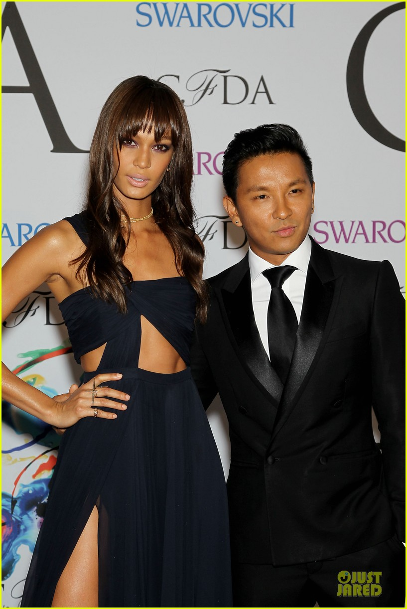 chanel iman joan smalls cfda awards 2014 043127037